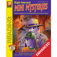 High-Interest Mini Mysteries: Featuring Jenna & Ranger White (Enhanced eBook)