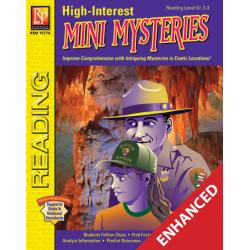 High-Interest Mini Mysteries: Featuring Jenna & Ranger White (Enhanced eBook)
