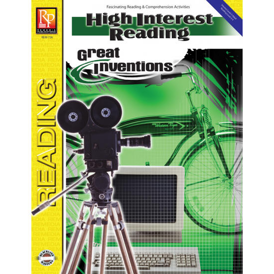 High-Interest Reading: Great Inventions (eBook)