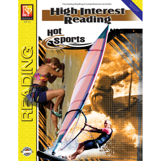 High-Interest Reading: Hot Sports (eBook)