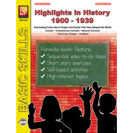 Highlights in History: 1900-1939 (eBook)