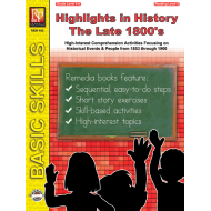 Highlights in History: The Late 1800s (eBook)