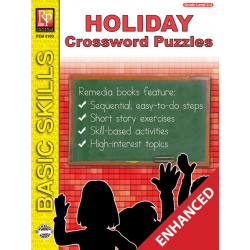 Holiday Crossword Puzzles (Enhanced eBook)