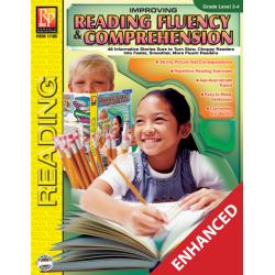 Improving Reading Fluency & Comprehension - Grades 3-4 (Enhanced eBook)