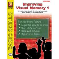 Improving Visual Memory - Grades 3-4 (eBook)