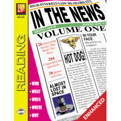 In the News! Volume 1 (Enhanced eBook)