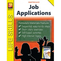 Job Applications Life Skills Unit (Chapter Slice)