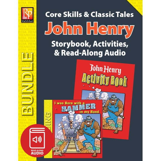 John Henry: Storybook, Activities, and Read-Along Audio (Bundle)
