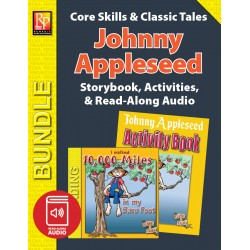 Johnny Appleseed: Storybook, Activities, and Read-Along Audio (Bundle)