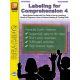 Labeling for Comprehension: Reading Level 4 (eBook)