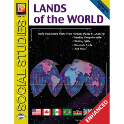 Lands of the World (Enhanced eBook)