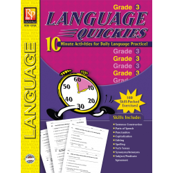 Language Quickies - Grade 3 (eBook)