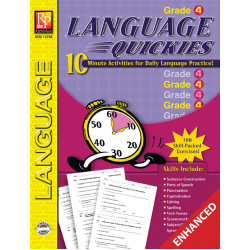 Language Quickies - Grade 4 (Enhanced eBook)