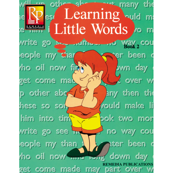 Learning Little Words - Book 2 (eBook)