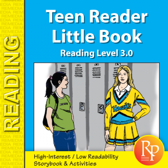 Teen Reader Storybook: A Lesson Learned in Time (Reading Level 3.0)