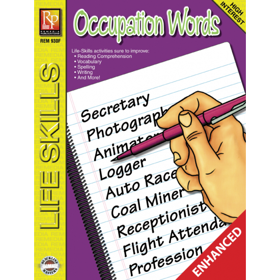 Occupation Words: Life Skills Lessons (Enhanced eBook)