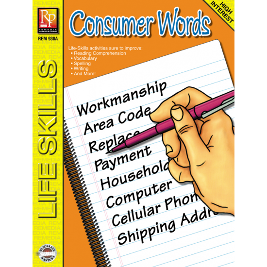 Consumer Words: Life Skills Lessons (eBook)