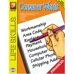 Consumer Words: Life Skills Lessons (Enhanced eBook)