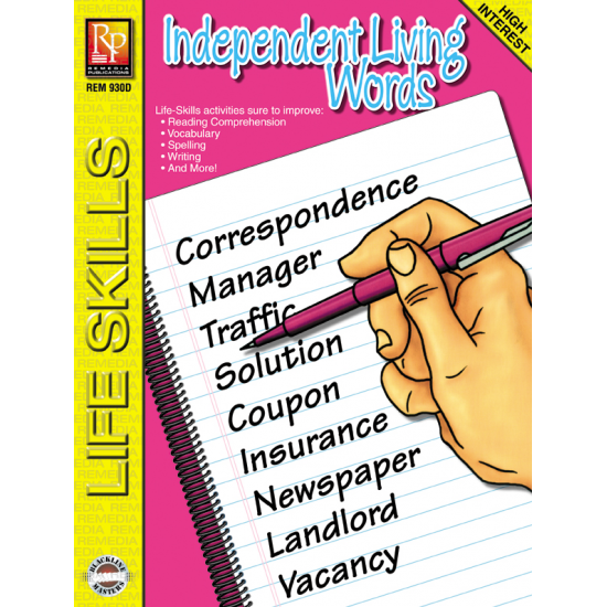 Independent Living Words: Life Skills Lessons (eBook)