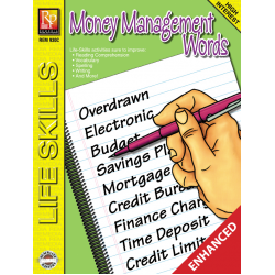 Money Management Words:Life-Skills Lessons (Enhanced eBook)