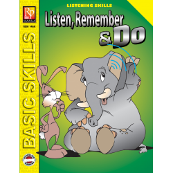 Listen, Remember, and Do - Grades 3-4 (eBook)