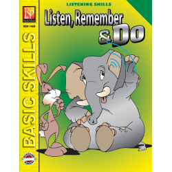 Listen, Remember, and Do - Grades 4-5 (eBook)