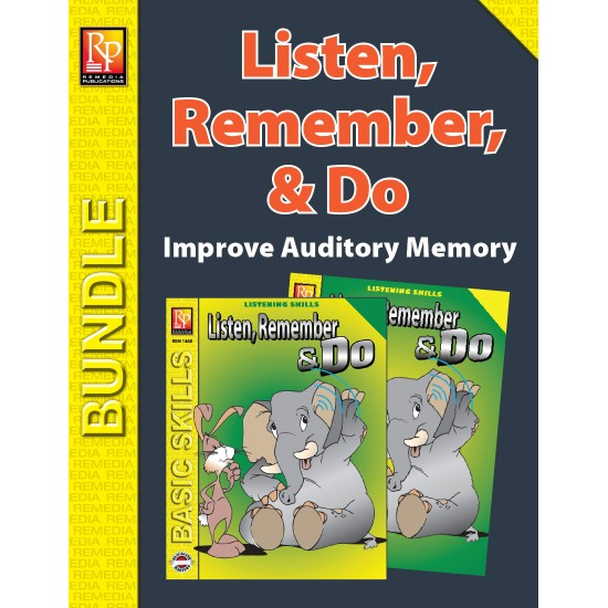 Listen, Remember, and Do (Bundle)