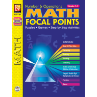 Math Focal Points: Number & Operations - Grade 2-3 (eBook)