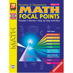Math Focal Points: Number & Operations - Grade 2-3 (Enhanced eBook)
