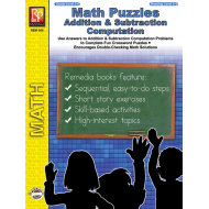 Math Puzzles: Addition & Subtraction Computation (eBook)