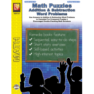 Math Puzzles: Addition & Subtraction Word Problems (eBook)