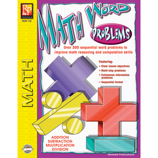 Math Word Problems (eBook)
