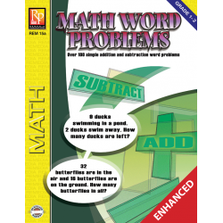 Math Word Problems for Grades 1-2 (Enhanced eBook)