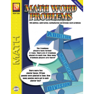 Math Word Problems for Grades 3-4 (eBook)