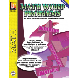 Math Word Problems for Grades 4-5 (eBook)