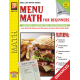 Menu Math for Beginners (Enhanced eBook)