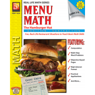 Menu Math: The Hamburger Hut +, - (eBook)