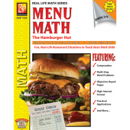Menu Math: The Hamburger Hut x, ÷ (eBook)