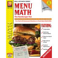 Menu Math: The Hamburger Hut x, ÷ (Enhanced eBook)