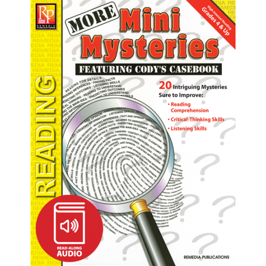 More Mini Mysteries (Audio & eBook)