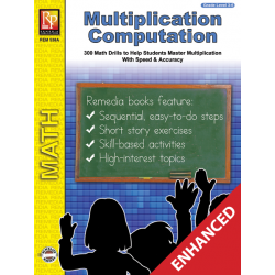 Multiplication Computation (Enhanced eBook)