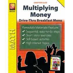 Multiplying Money: Drive-Thru Breakfast Menu (Chapter Slice)