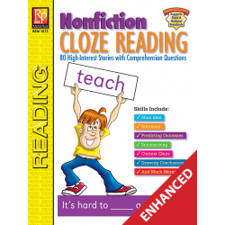 Nonfiction Cloze Reading (Enhanced eBook)
