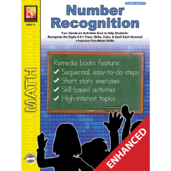 Number Recognition (Enhanced eBook)