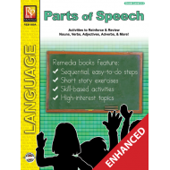 Parts of Speech - Grades 2-3 (Enhanced eBook)