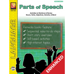 Parts of Speech - Grades 2-3 (Enhanced eBook)