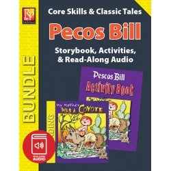 Pecos Bill: Storybook, Activities, and Read-Along Audio (Bundle)
