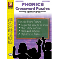 Phonics Crossword Puzzles (eBook)