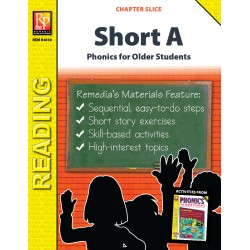 Short A: Phonics For Older Students (Chapter Slice)