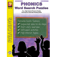 Phonics Word Search Puzzles (eBook)